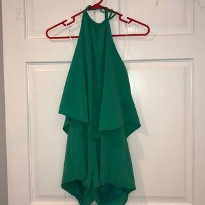 Dresses & Skirts - NEW green romper- size Medium Van Maur